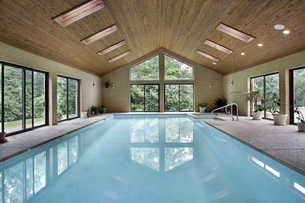 inbouw zwembad polyester